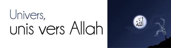 Univers, unis vers Allah