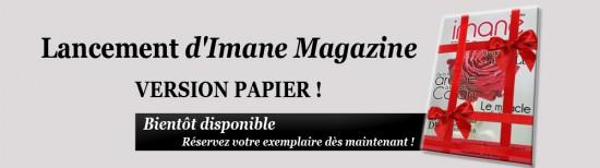 Lancement d'Imane Magazine Version Papier