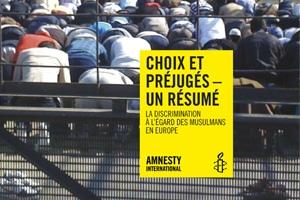 Islamophobie : Rapport d'Amnesty International
