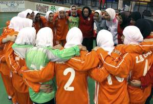 Le hijab autorisé au football