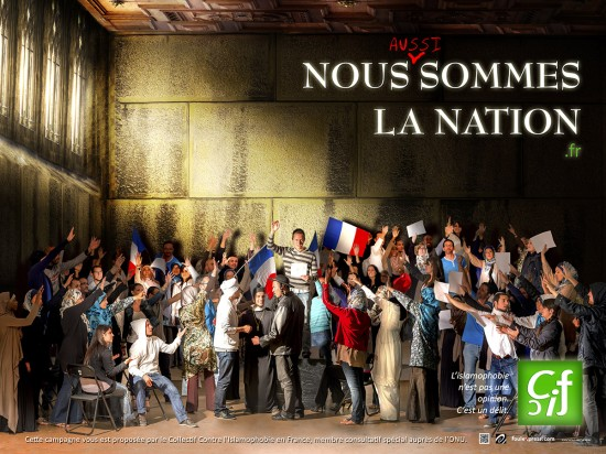 Nous sommes la nation – Campagne anti-racisme