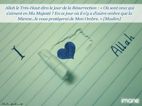 [Hadith's day] L'amour en Allah