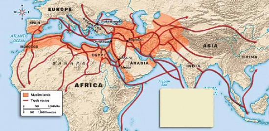 Rôle du commerce dans l'expansion de l'Islam