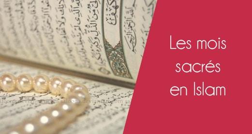 Les mois sacrés en islam