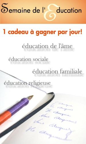 C'est la semaine de l'Education !