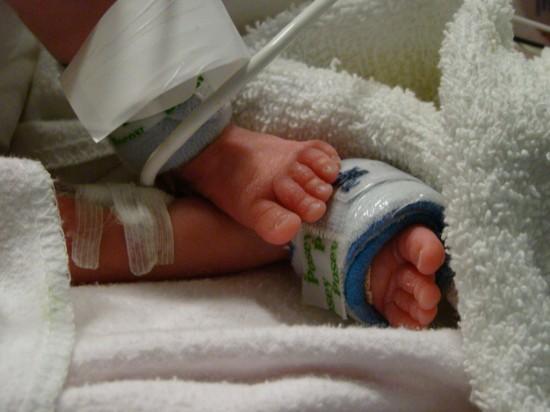J'ai accouché d'un bébé prématuré