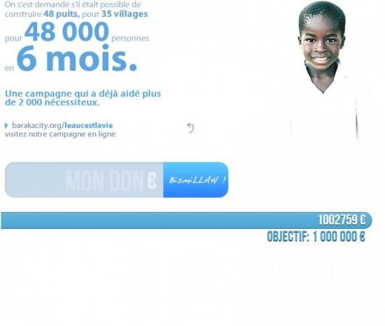 Barakacity : le million pour le Togo, c'est fait !