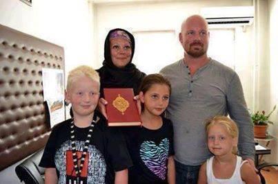 Toute une famille se convertit à l'islam
