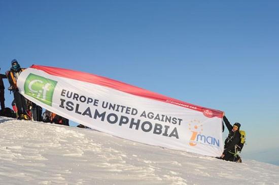 Contre l'islamophobie : ils vont au sommet !