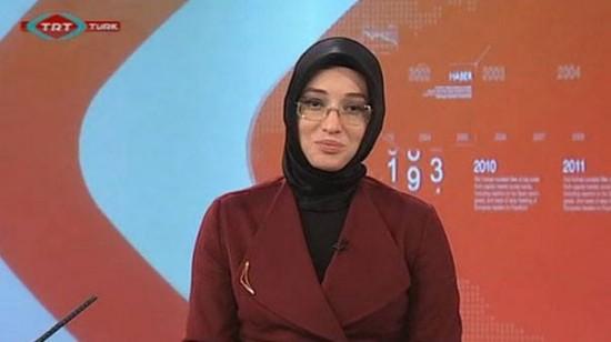 Turquie : une présentarice voilée sur une chaine publique !