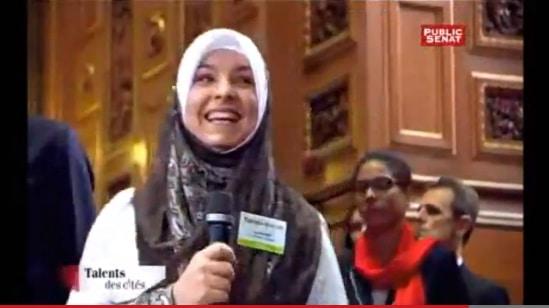 [Vidéo] La soeur de For Muslim'a création au Sénat !