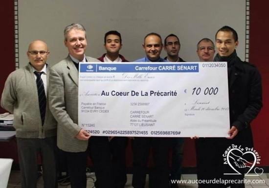 10 000 euros pour «Au coeur de la précarité»