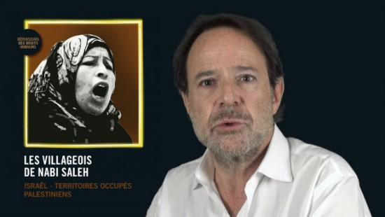 [Video] Marc Lévy soutient la Palestine