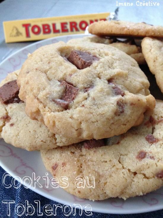 Recette de cookies au Toblerone