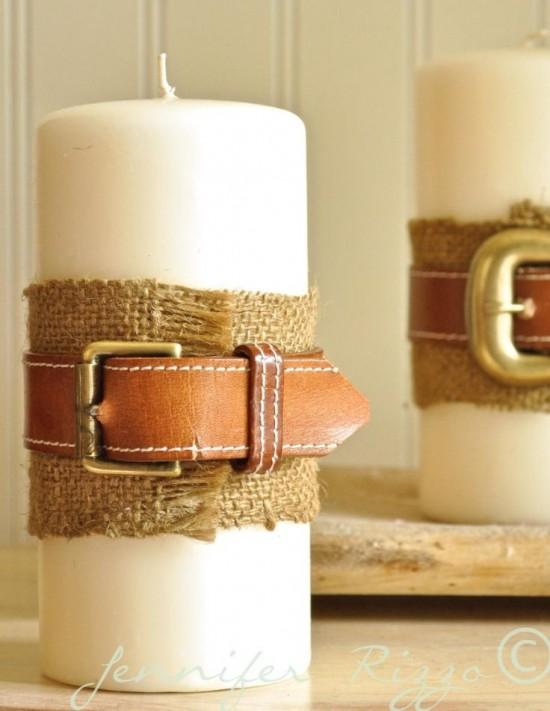 Des ceintures pour une déco originale et tendance !