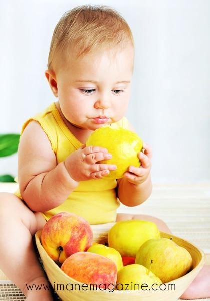 Apprentissage du goût : amener bébé à manger de tout