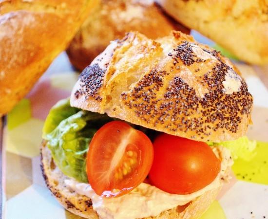 Petits pains faciles et sans pétrissage