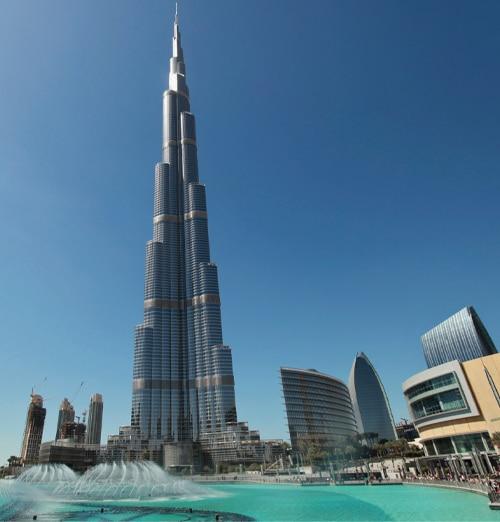 Survol de Dubai à dos d'aigle