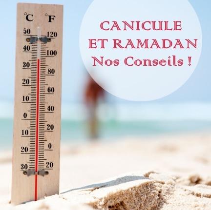 Canicule et Ramadan : Objectif hydratation