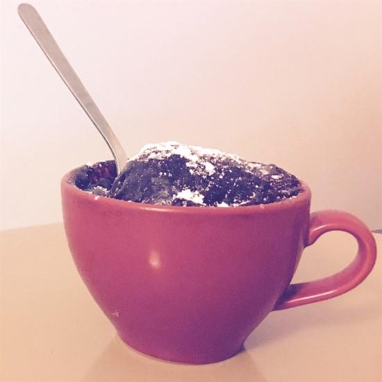 LA recette du Mug Cake au chocolat