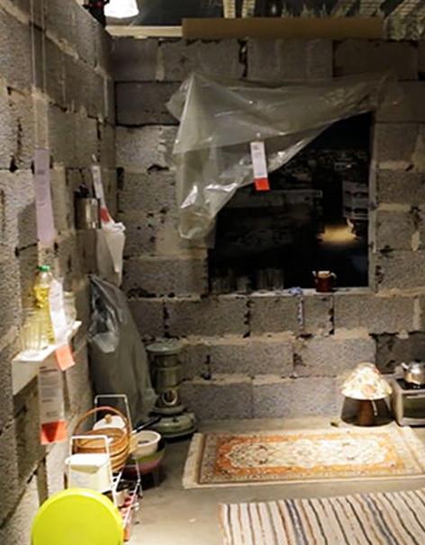 «25m² of Syria» : la campagne choc d'IKEA pour sensibiliser à l'enfer syrien