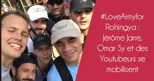 #LoveArmyforRohingya : 2 Million pour les Rohingyas